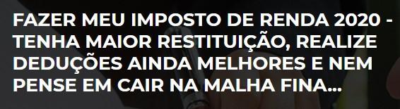 Imposto De Renda 2020 - Contabilidade em São Paulo | Decisiva Assessoria e Consultória Contábil