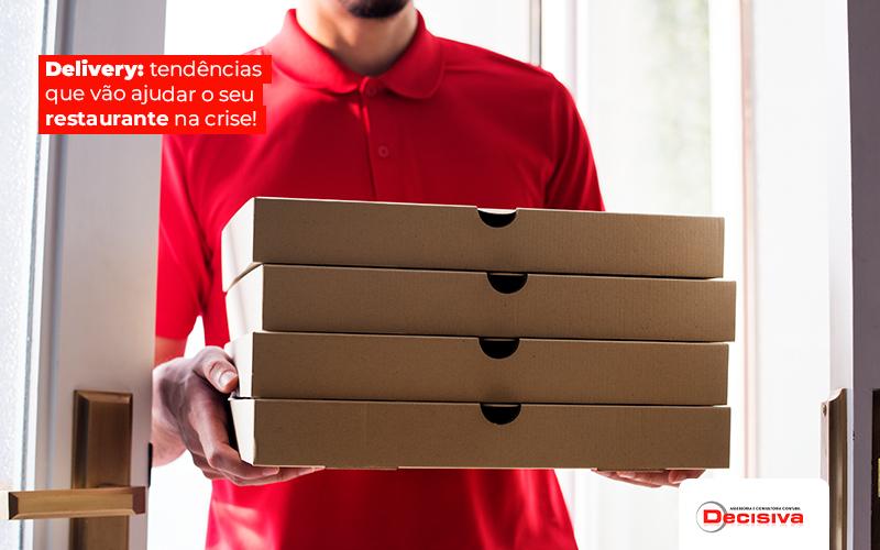 Delivery: tendências que vão ajudar o seu restaurante na crise!