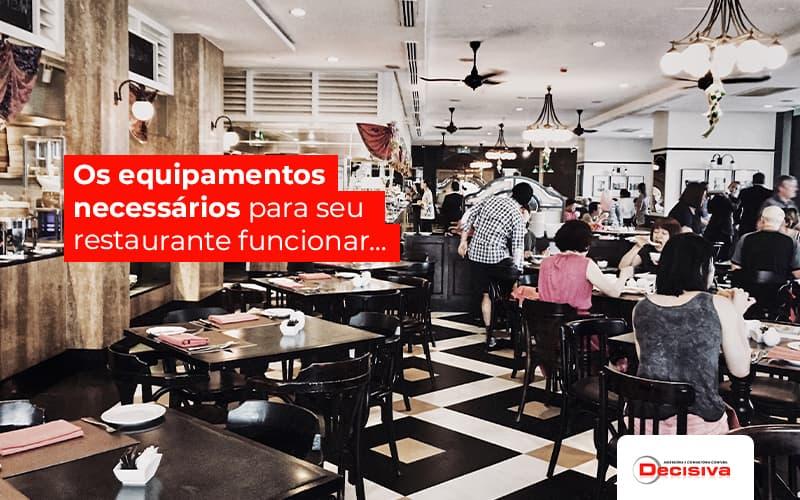 Equipamentos para restaurantes: Quais são indispensáveis?