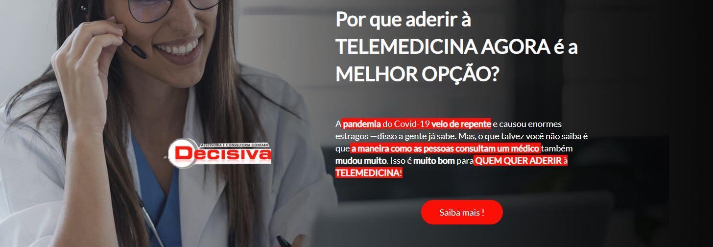 Telemedicina - Contabilidade em São Paulo | Decisiva Assessoria e Consultória Contábil