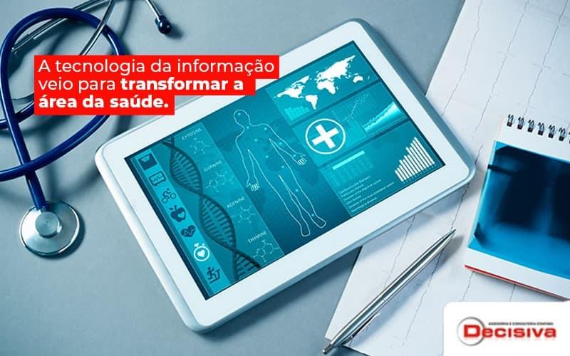 Como as TICs podem ajudar na área da saúde?