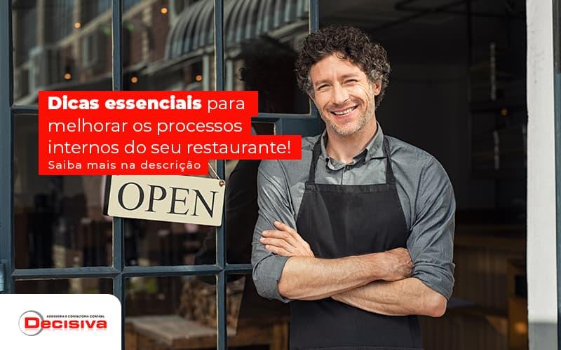 Processos internos de bares e restaurantes - como melhorar?