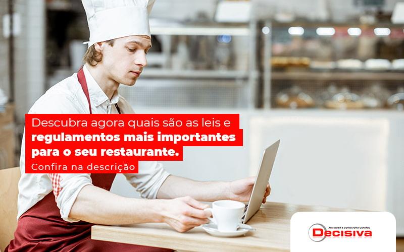 Leis e regulamentos de restaurante: você está regularizado?