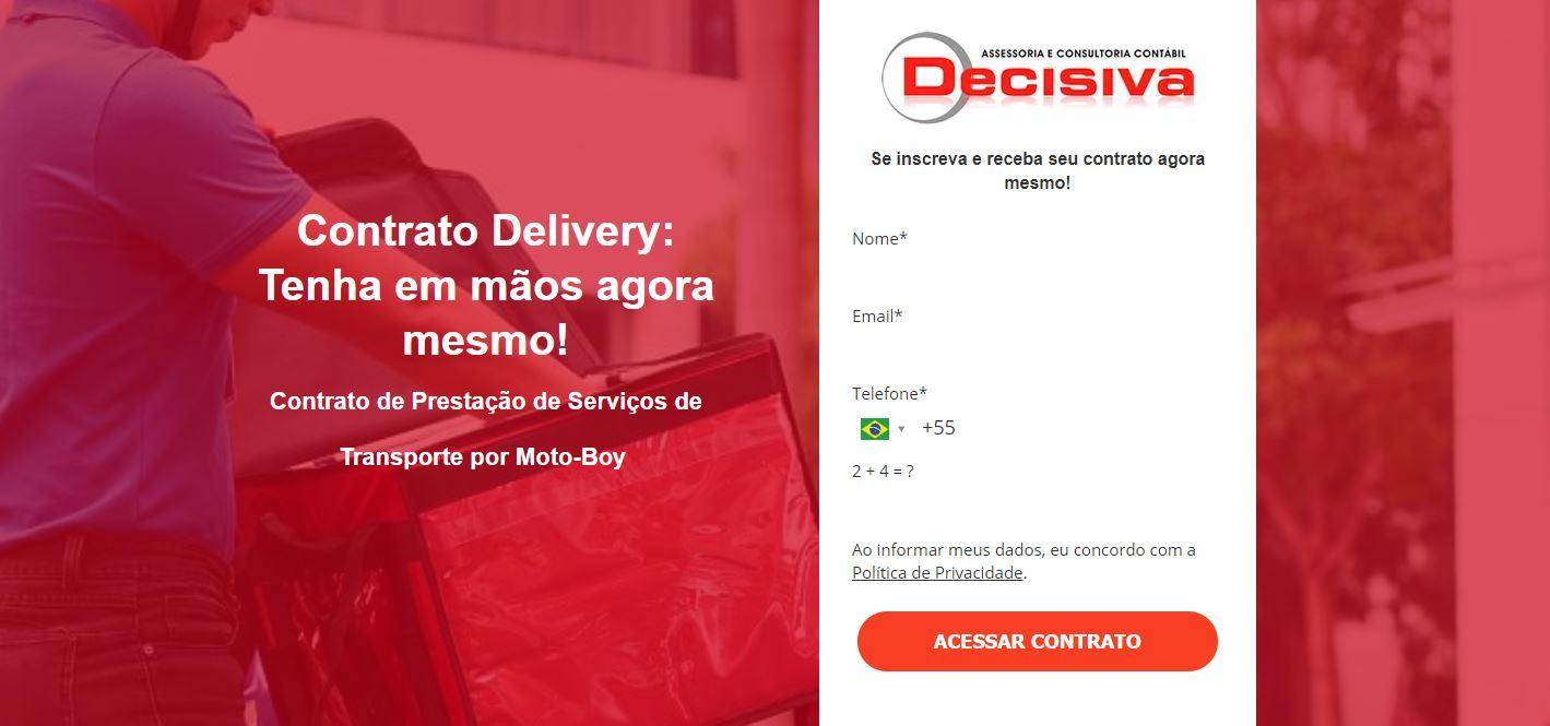Delivery - Contabilidade em São Paulo | Decisiva Assessoria e Consultória Contábil
